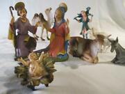 Depose Nativity 11pc. Set Figures Italy Fontanini Spider Mark Baby Replacement