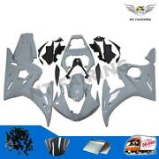 Bodywork Gray Fairing Fit For Yamaha Yzf 03-05 R6 And 06-09 R6s Injection Mold I09