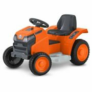 Mow And Go Lawn Mower 6-volt Ride-on Toy Kid Trax 18 -30 Months Green Toddler New