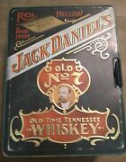 Vintage No 7 Jack Daniels Old Time Tennessee Whiskey Tin Box