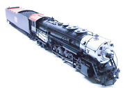O 2rail Brass Sunset Models Cbandq Colorado Class 2-10-4 Loco 6325 Fac Painted
