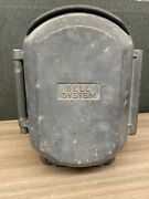 Vintage Bell System Emergency Call Box Telephonemade By Western Electric 525b