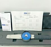 Cdi 752ldin Dial Torque Wrench 0-75 In / Lb A Snap-on Company Made In Usa