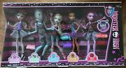 Monster High Dance Class Collection 5 Dolls Nrfb