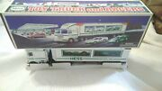 Hess Truck And Two Race Cars 1997