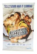 Jay And Silent Bob Strike Back Signed 27x40 Poster Kevin Smith Jason Mewes Acoa
