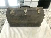 Vintage Kennedy Kits 1017 Cantilever Tool Box Fold Out Toolbox Tackle Chest 17