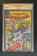 Amazing Spider-man 14 Cgc 9.8 Ss Signed By Stan Lee 1st Green Goblin Euro 1 300