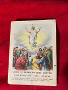 Sunday School Lesson Bible Cards Christ Is Risen 1920andrsquos-1930andrsquos