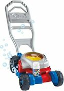 Fisher-price Bubble Mower, Outdoor Push-along Toy Lawnmower For Toddlers And Pre