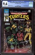 Tmnt Adventures 1 Cgc 9.6 White Archie, 1988 1st Krang, Bebop, And Rocksteady