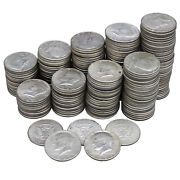 1965-1969 Kennedy Half Dollar 10 Rolls 40 Silver 100 Face 200 Coins Mixed Date