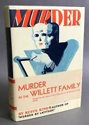 1st W/ Belly Band Rufus King Murder In The Willett Family Crime Club 1931