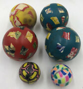 Vintage Superball Lot Of 6 China
