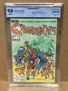 Thundercats 1 Cbcs 9.8 Cgc It 1985 Tv Series Movie White Pages Star Marvel 🔥