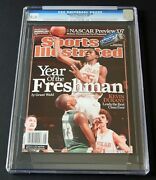Kevin Durant First Cover 2007 Sports Illustrated Newsstand Cgc 9.4 Rookie
