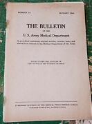 Ww2 No. 84 Jan 1945 The Bulletin Us Army Medical Dept. Anesthesia Early G-suit