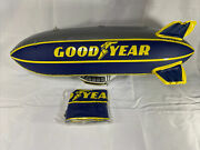"""New Vintage Inflatable 32"""" Large Goodyear Blimp Tire Display Sign Gas Station"""