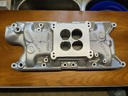 Rare Offenhauser Dual Port Intake Ford Hipo Mustang Ho Cougar 260 289 302 F150