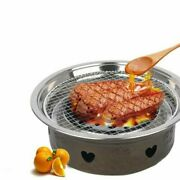 Bbq Steel Grill Mesh Fish Meat Round Net Barbecue Camping Outdoor Mat Pads Kits