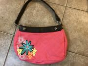 Thirty One Suite Skirt Purse Bright Pink Floral, New