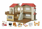Calico Critters Red Roof Country Home Gift Set New