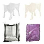 4 Corner Post Bed Canopy Mosquito Net Bedding Full/queen/king Size 190210240cm