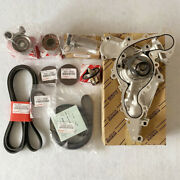 Oem Timing Belt Kit And Water Pump Fit Toyota Tundra 4runner Water Pump 4.7l V8 Us