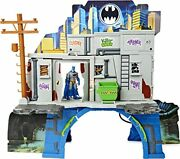 3in1 Batcave Playset With Exclusive 4inch Batman Action Figure And Battle Armor