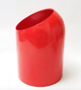 Makio Hasuike Designed For Gedy Waste Basket Red Color Made In Italy Rare