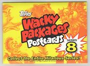2012 Topps Wacky Packages Postcard L.e Series 8 Factory Sealed Set