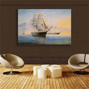 Sailboat Posters And Prints Wall Art Pictures For Living Room Home Decoration