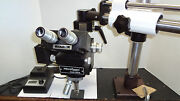Bandl Bausch And Lomb Microzoom Long Wd On Boom Stand Newport Table Mount