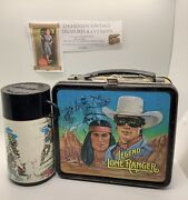 The Legend Of The Lone Ranger Lunchbox With Thermos