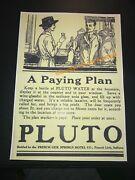 """French Lick Springs Hotel Pluto Water Devil - Indiana Advertising 11"""" X 15"""""""