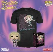 Funko Britney Spears 90 Baby One More Time Exclusive Target Pop And Xl Shirt