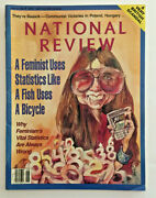 National Review June 27, 1994 Feminists Hillary Clinton Absolut Brooklyn Ad