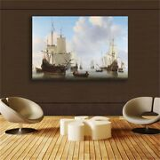 Sailboat Canvas Painting Poster And Print Pictures Modern Home Decor Living Room