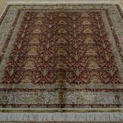 Yilong 5and039x7and039 Handmade Silk Rug Antistatic Home Interior All-over Carpet 1914