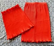 Vintage Elsa Serrano Haute Couture Roma Top And Skirt Size 2 1980and039s Argentine