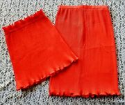 Vintage Elsa Serrano Haute Couture Roma, Top And Skirt, Size 2, 1980's Argentine