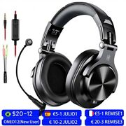 Oneodio A71 Wired Over Ear Headphones, Studio Headphones, Gaming Headset New Mic