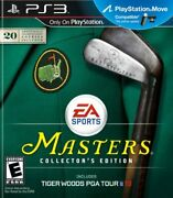 Tiger Woods Pga Tour 13 The Masters Collector's Edition - Playstation 3