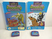 Leap Frog Pad Reading Book And Cartridge Scooby Doo Zombie Haunted House Lot Of 4