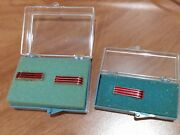 1966 Chevrolet Nos Dealer Promotional Tie Clip And Cuff Links