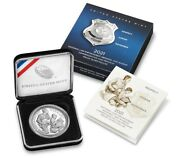 National Law Enforcement Memorial And Museum 2021 Proof 99.9 Silver Dollar