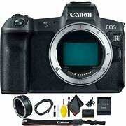 Canon Eos R Mirrorless Digital Camera Body Only + Ef To R Mount Adapter Kit