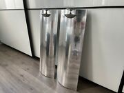 Bang And Olufsen Beolab 12-2 Silver Pair With Wall Mounts