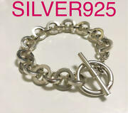 Silver 925 Mulchain Bracelet Mexican Jewelry For Lovers