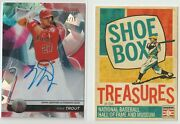 2020 Bowmanand039s Best Mike Trout Atomic Refractor Auto 10/25